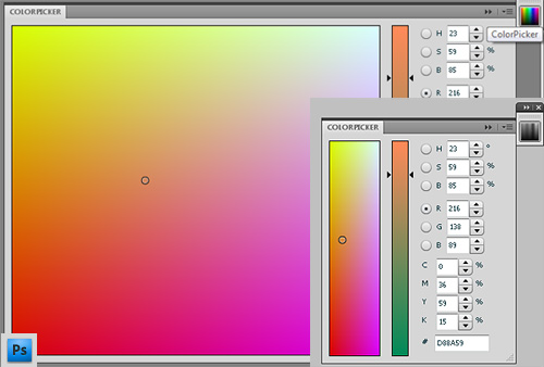 Colorpicker for Adobe Photoshop CS4 by Anastasiy Safari
