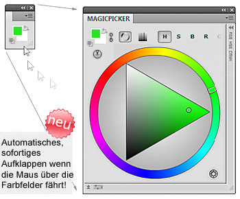 New! MagicPicker Color Wheel 2.2 update
