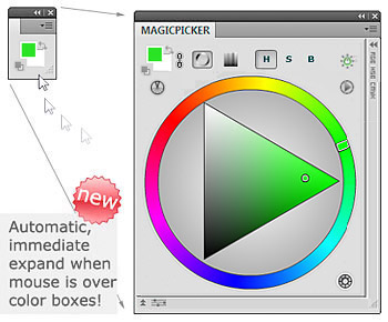 New! MagicPicker Color Wheel 5.2 update
