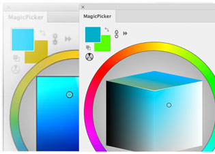 Cambio de temperatura MagicPicker Color Wheel
