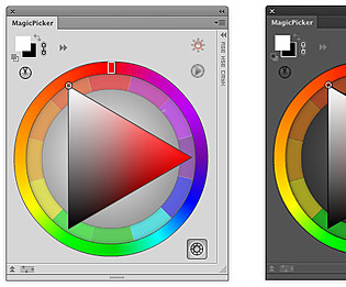 Traditional Color Wheel (RYB, Johannes Itten's Color Wheel Wheel) in Photoshop and Illustrator