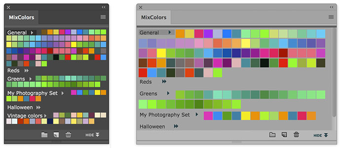 Photoshop MixColors - a color mixer