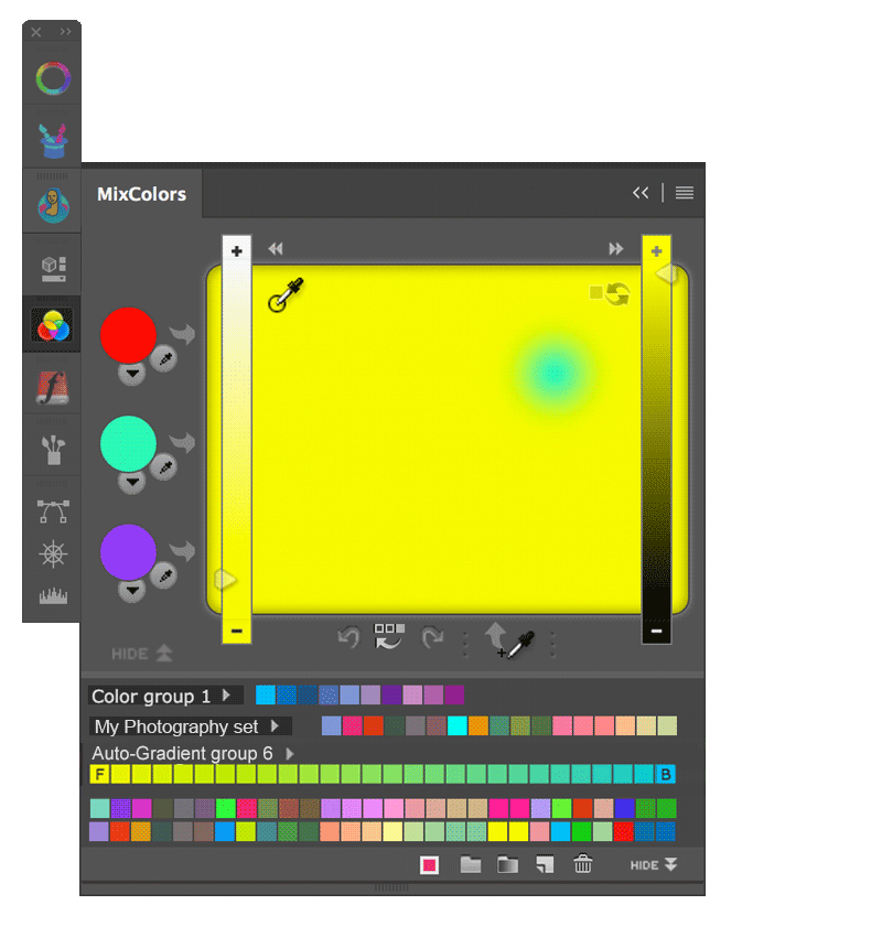 Anastasiy / Photoshop CC CS6 CS5 CS4 and CS3 Color Wheel
