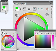 Photoshop Color Wheel - MagicPicker
