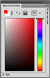 MagicPicker panel Color Wheel color picker example 1