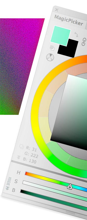 MagicPicker 4 - advanced color wheel and color picker for Photoshop and Illustrator